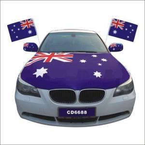 Engine Cover Custom Design Car Hood Flag