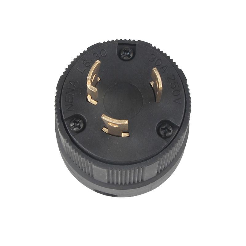 High Quality UL American NEMA L6-30p Us Twisting Locking Plug IP20