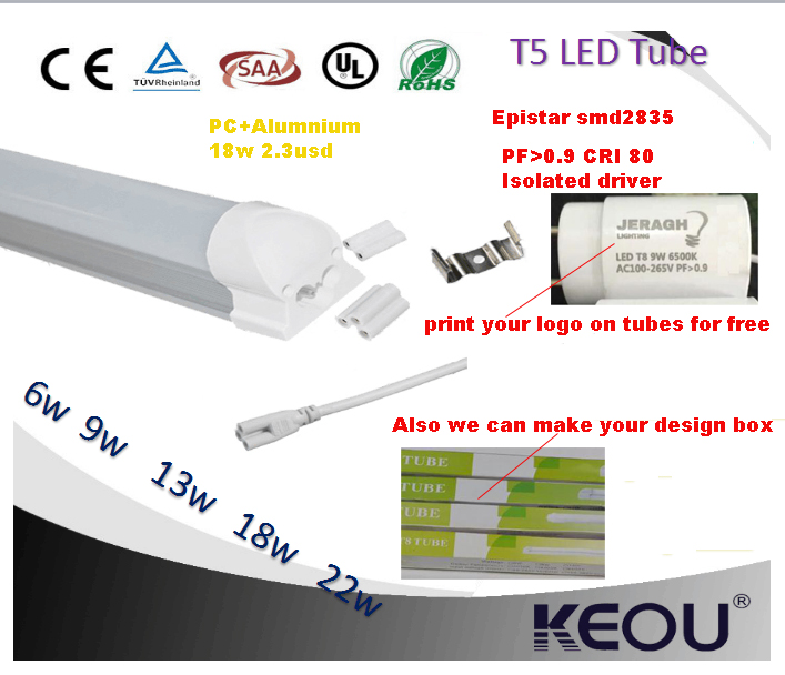 Laser Designator G13 Base LED Tube T8 1200mm 18W