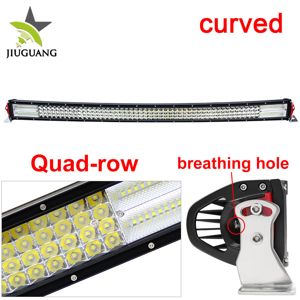 744W Super Bright Offroad Curved 42inch LED Light Bar