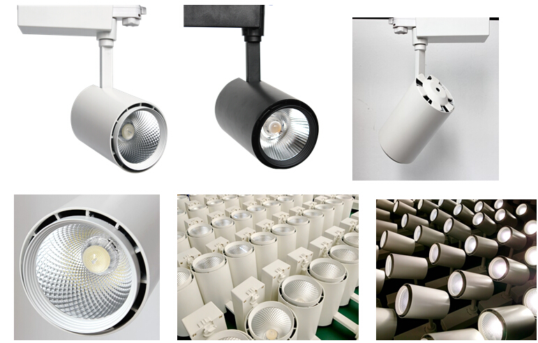 6-45W Shoes/Clothes Chain Shop/Store/Mall LED Track Lighting