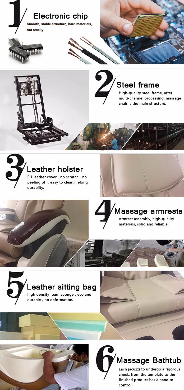Smart Backrest Kneading Shiatsu Massage Foot SPA Massage Pedicure SPA Chair (A202-26A)