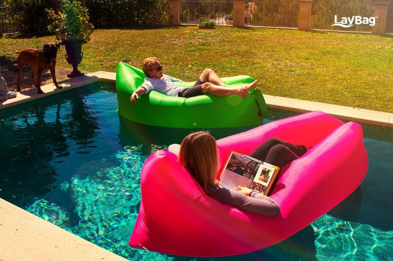 Newest Product on The Market Inflatable Lazy Bed/Lazy Lounge Sofa/Fast Inflatable Bean