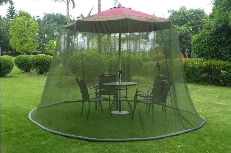 Outdoor 9 Foot Patio Umbrella Mosquito Net