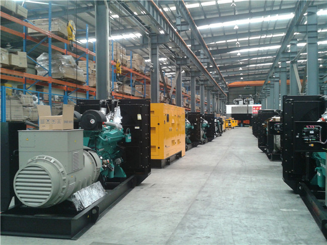 220kw Diesel Generator with 4 Stroke Cummins Generator
