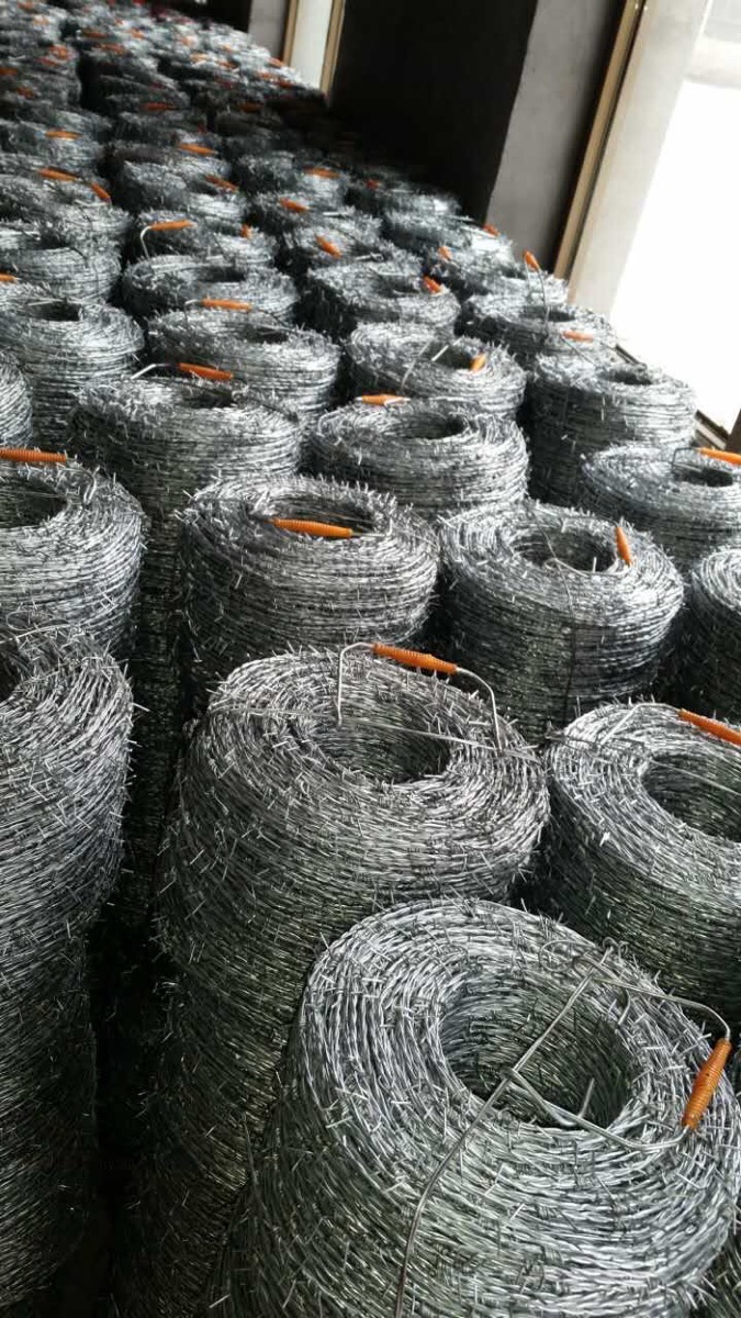 14gax14ga Hot Dipped Galvanized Barbed Wire