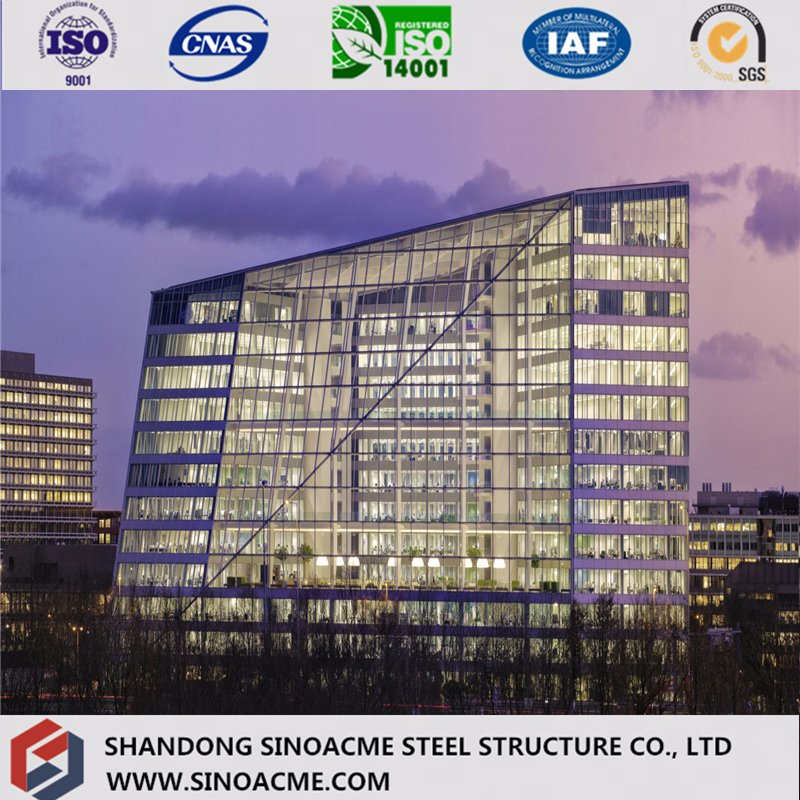 En1090 Certificated Steel Frame Hotel Building/Commercial Construction