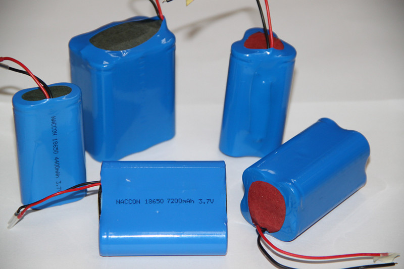 Cylindrical Lithium-Ion Battery 3.7V (1500-2700mAh) a Torch