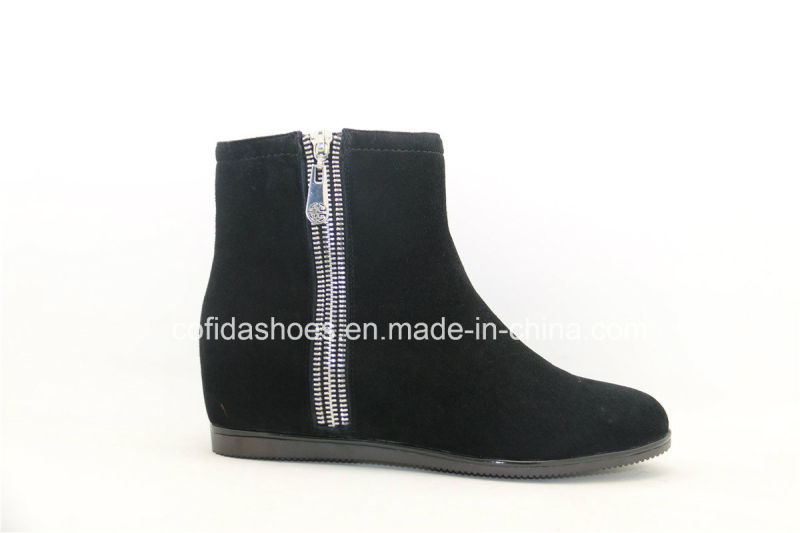 Hot-Sale Comfort Inside Increased Leather Women's Boots