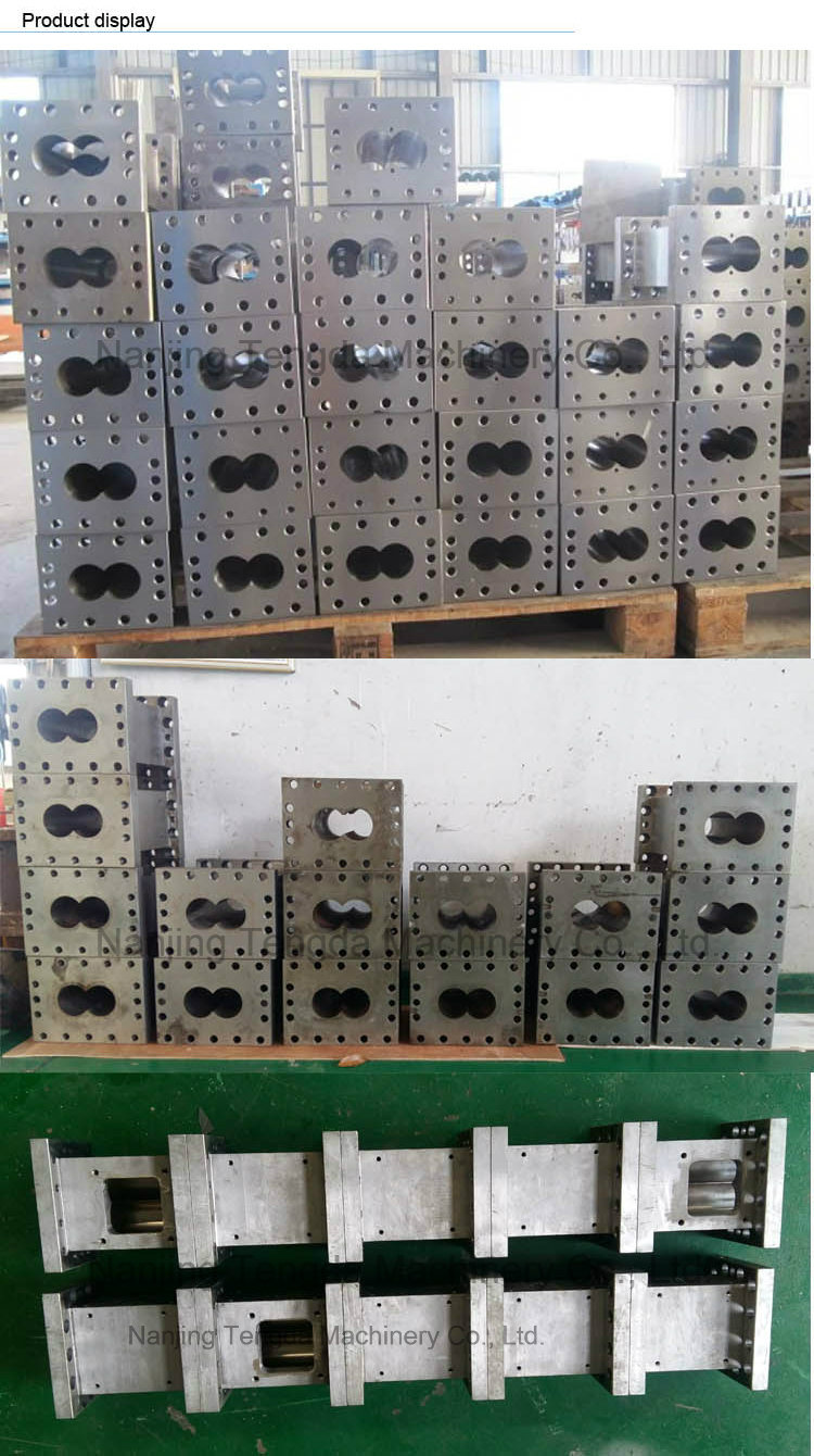 Screw and Barrel for Twin Screw Extruder
