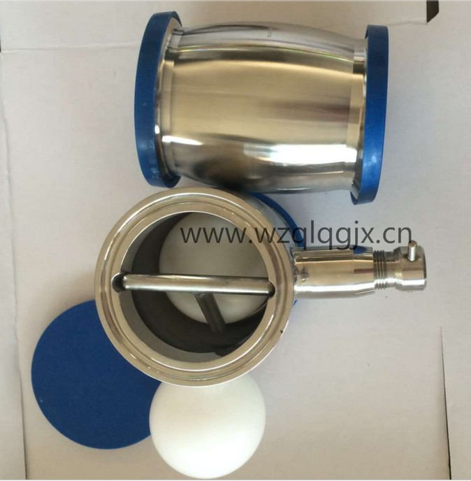 Clamped Stainless Steel Sanitary Ball Check Valves