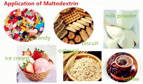 Maltodextrin Powder Maltodextrin De 10-12