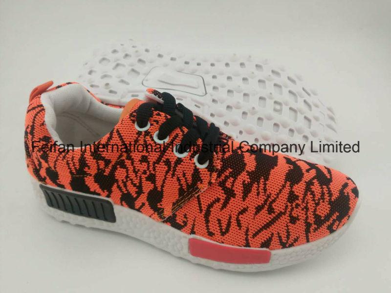 Latest Design Canvas Injection Shoes, Unisex Sport Shoes with Comfortatble Sole (FFST-001)