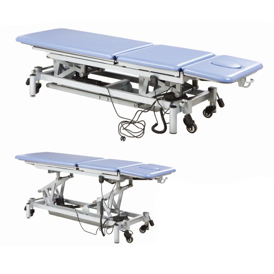 Rehabilitation Equipment Adjustable Multi-Body-Position Treatment Bed