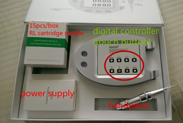 Goochie A8 Digital Eyebrow Embroidery Permanent Makeup Machine