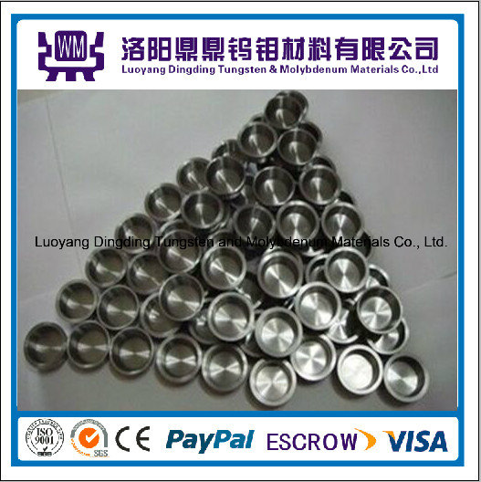 99.95% High Density and Temperature Polished Sintered Tungsten Crucible / Crucibles Molybdenum Crucibles/Crucible for Rare Earth Industry