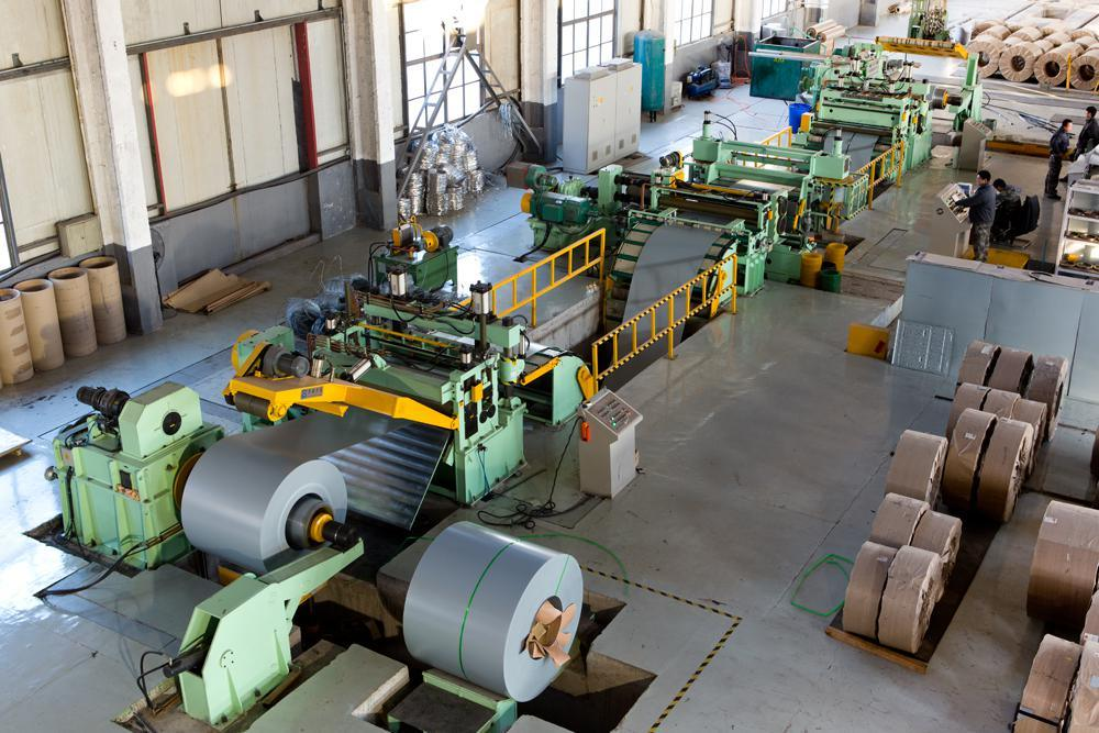 Automatic Full Set Steel Coil Slitting Machine Line