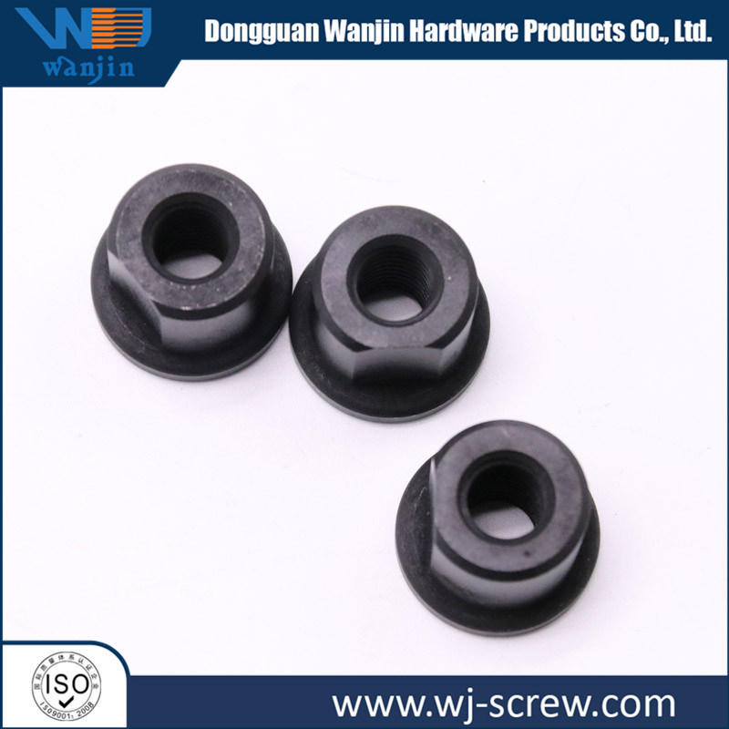 Customized Black Round Head Hexagonal Stainless Steel Screw Nut