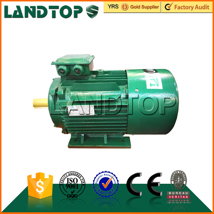 Landtop three phase 3 kw 20 HP electric y2 motor