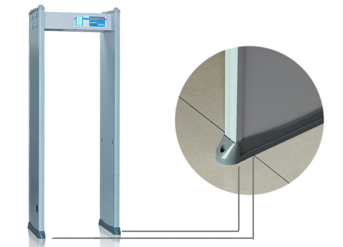 Indoor 3D Infrared Quick Scanning Door Frame Metal Detector with 20 Security Level