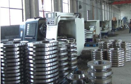 Duplex Steel Flange Lwn Forged Flange to ASME B16.5 (KT0092)
