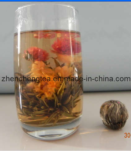 Blooming Flower Tea (Shuang Xi Lin Men)