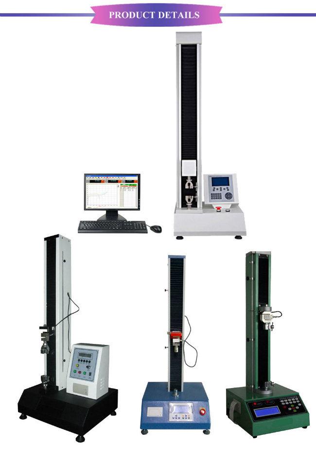 Single Column Electronic Single Column Tensile Strength Testing Machine