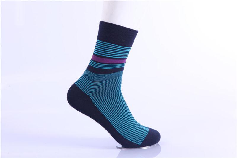 Men Dress Crew Cotton Socks
