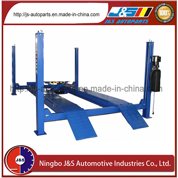 China Supplier Quality Car Lift, 4000kgs/4tcar Lift, Ce Approved with Secondary Lifting Trolley Four Post Car Lift