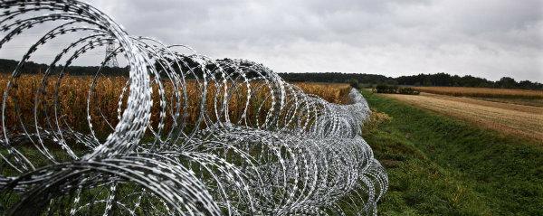 China Galvanized Concertina Razor Barbed Wire Bto 22