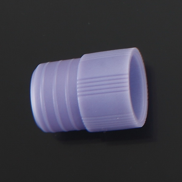 Plastic Tube Stoppers with Flange Plug Cap