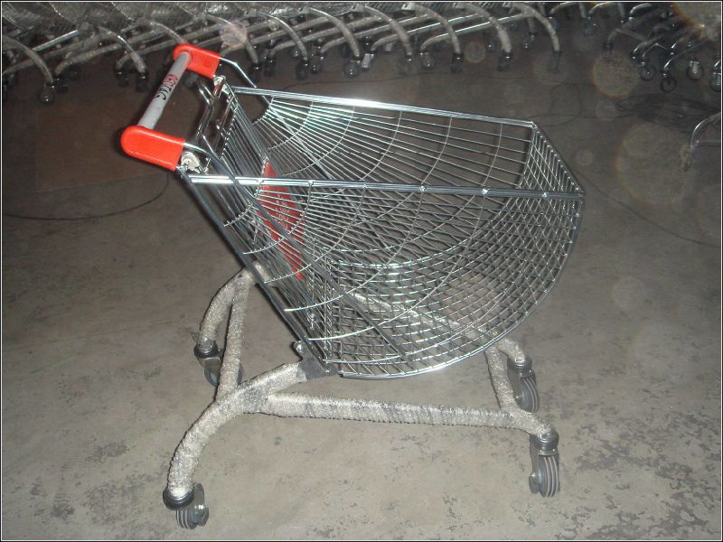 Shopping Carts and Trolleys for Supermarket with Children Sit and Wheels