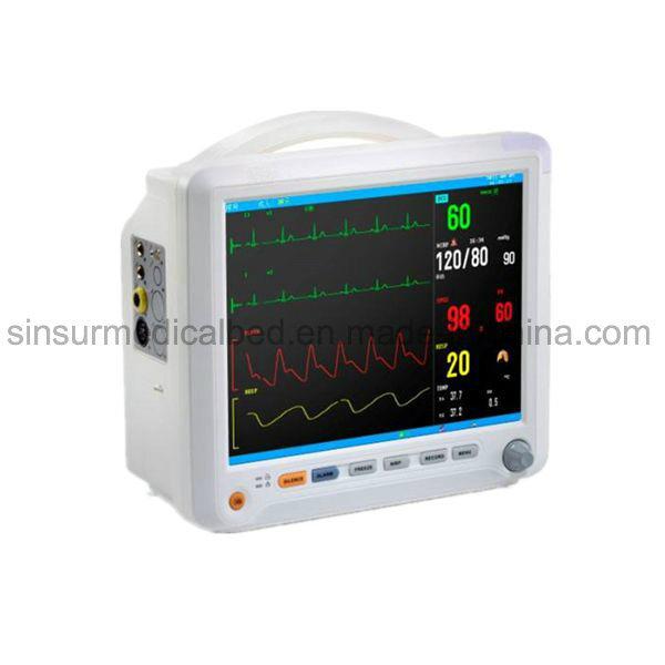 Medical Diagnosis Equipment ICU Operating-Room ECG Multi Parameter Patient Monitor