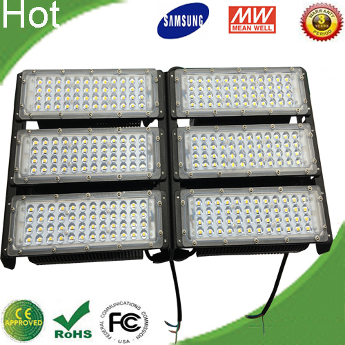 High Lumen 300W LED Flood Light for Highway Tunnel or Stadium IP65 CE RoHS Approval