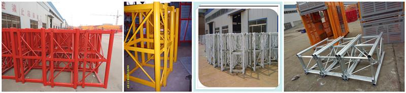 Double Cage Building Hoist \ Construction Hoist for Sale