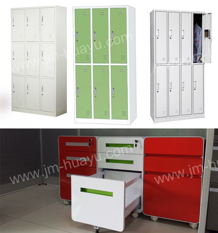 Wholsale Office Furniture Colorful File Cabinet with 3 Drawers