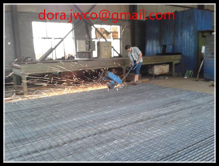 Industrial Floor Drain Grating/Steel Material Galvanized Grating