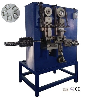 Mechanical Square Strapping Wire Buckle Making Machine