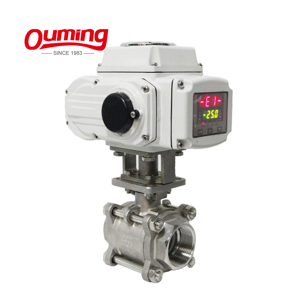 High Quality Gas or Water Automatic Pneumatic Flow Pressure Electrical Control Valve Price Wholesale