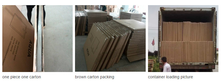 Sanitary Ware 1200*700 High Quality Wood Surface SMC Shower Base (ASMC1270W)