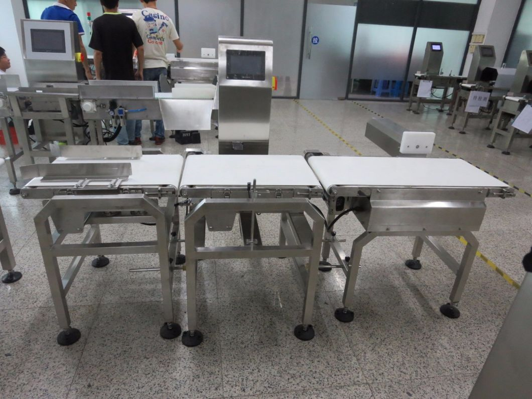 Inline Automatic Checkweigher Machine for Food Packaging