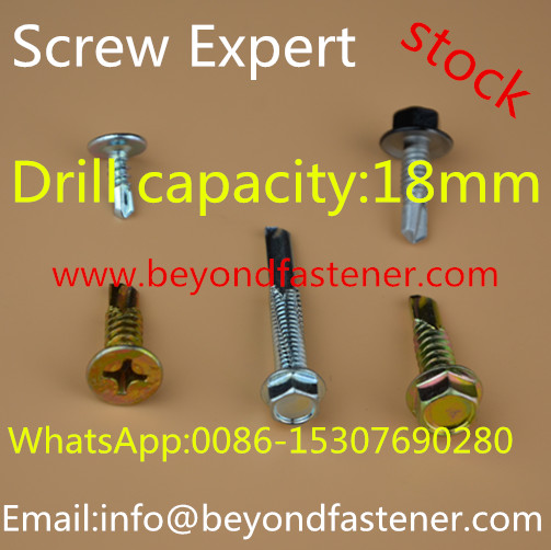 Torx Roofing Screw Self Drilling Screw Bi-Metal Screw