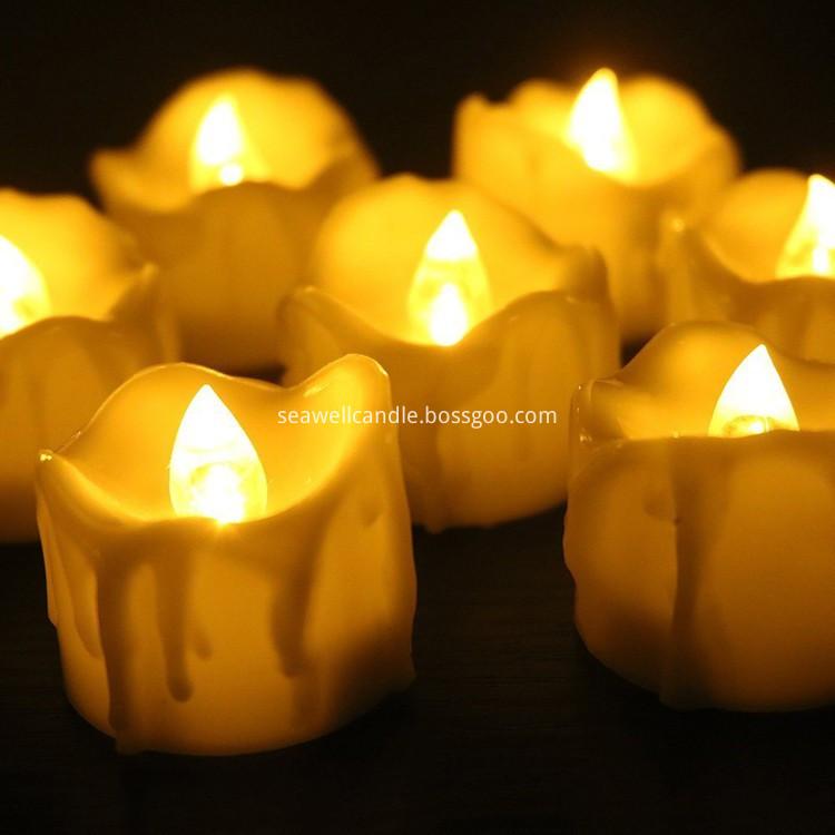 Flickering Flameless Led Tea Light