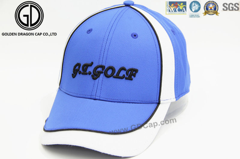 Professional High Quality Embroidery Baseball Hat Golf Sports Cap