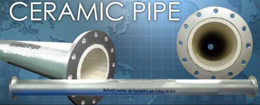 Wear Resistant Alumina Ceramic Lined Composite Steel Bend Pipe