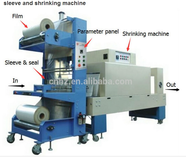 St6030 Best Price Semi Automatic Thermal Heat PVC Plastic Film Pet Bottle Shrink Machine