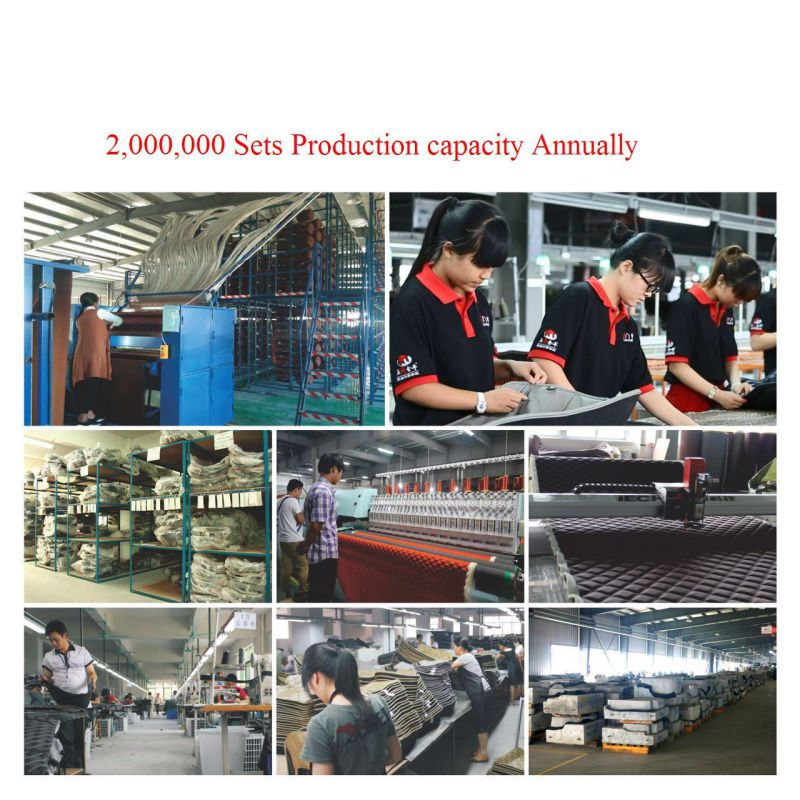 Car Carpet Acm101b Synthetic Leather XPE Mat for Volvo, Jaguar