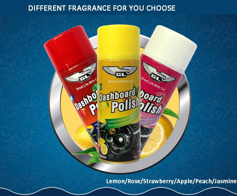 Different Fragrance Auto Silicone Dashboard Spray