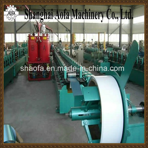 PU Roller Door Roll Forming Machine (AF-S126)