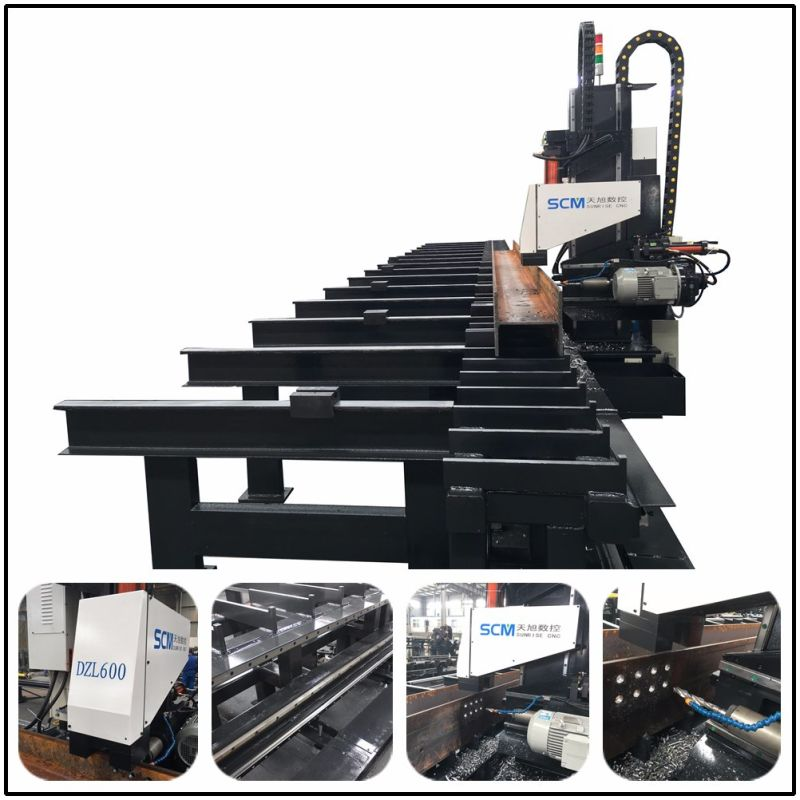 Jenis Spindle Ocean Type Drilling Machine for Rows Channels Tubes
